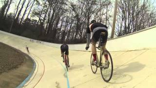 Track Training With Nautical Gnar Track Team at Dick Lane Velodrome