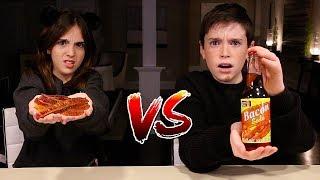 WEIRD SODA vs REAL FOOD!!