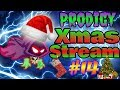 PRODIGY GAME THREE LEVEL 100 BATTLES LIVE EPIC 🎄CHRISTMAS STREAM🎅 | FREE SHOUTOUTS!!!