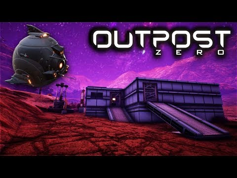 OUTPOST ZERO - Drone Crafting & Base Building - Let's Play Outpost Zero Gameplay Part 2 (Survival)