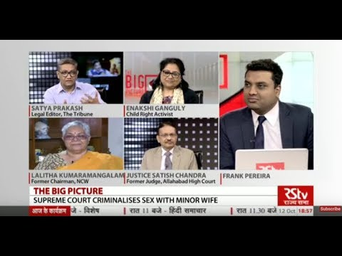 The Big Picture -  SC Criminalises Sex with Minor Wife: Implications