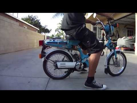 1980 honda express nc50 moped running