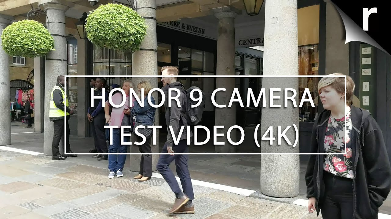 Honor 9 camera test video sample (4K UHD) - YouTube