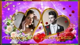 Футажи свадебные   Жених и невеста