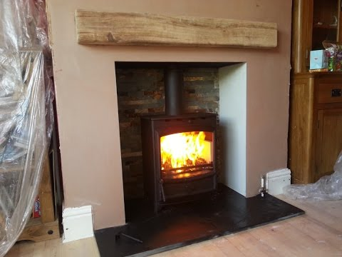 Dg Ivar Stove Installation Of Fireplace And Wood Burning