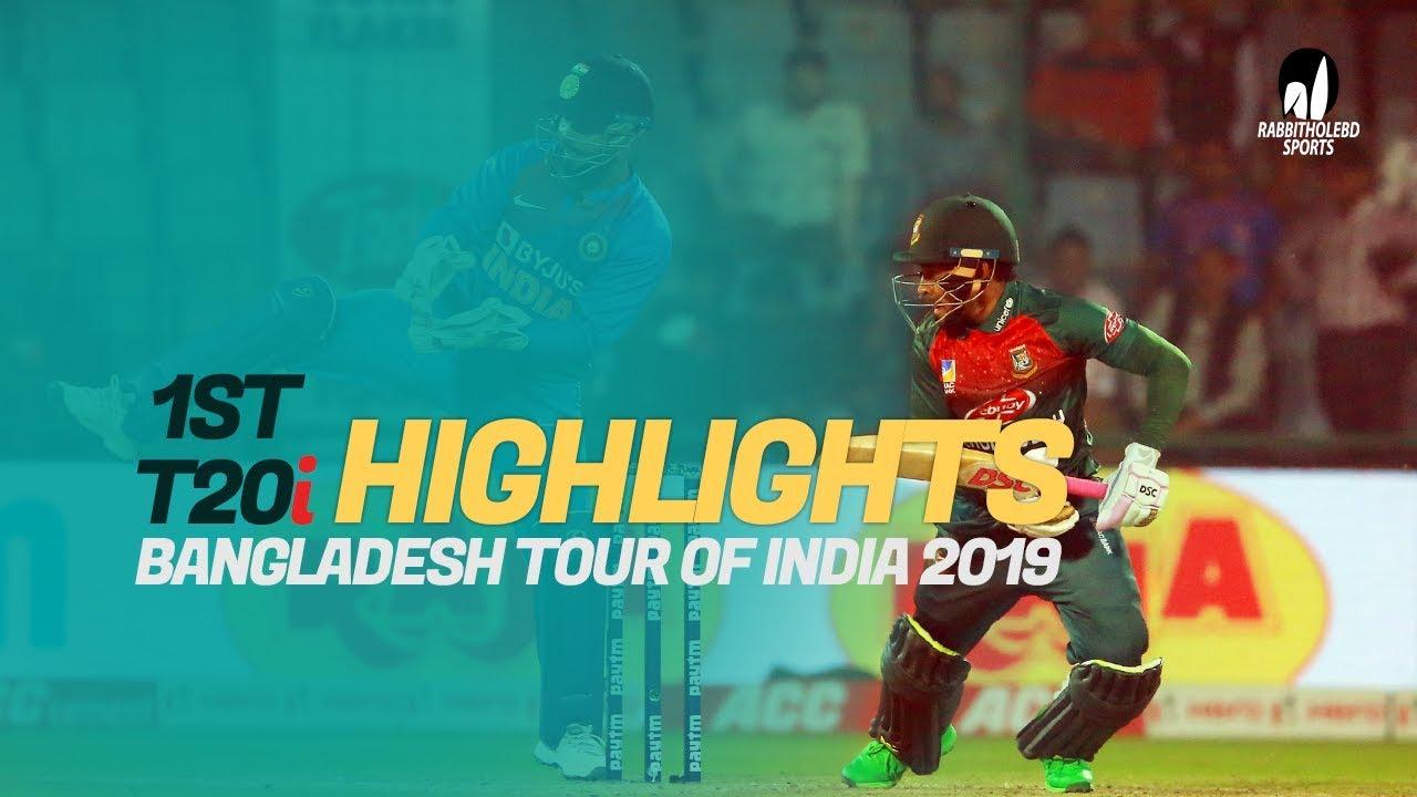 India vs Bangladesh Highlights | 1st T20 | Bangladesh Tour of India 2019