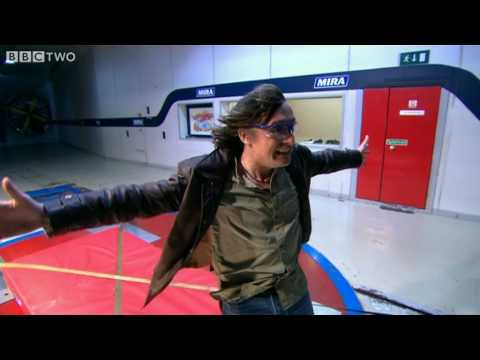 Wind Tunnel - Richard Hammond's Engineering Connections episode 6 - BBC Two
