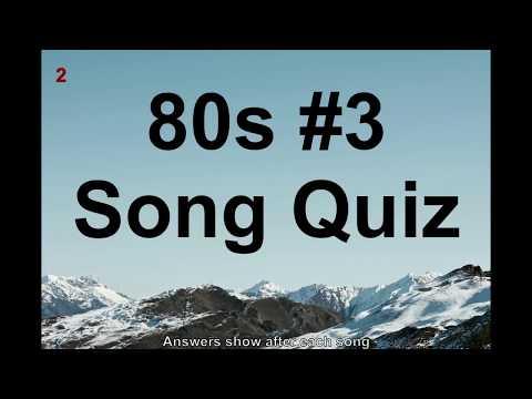 Name That Song! 80s Music Quiz #3 QNTSQ