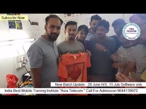 Asia Telecom Advance Mobile Chip level Repairing Institute - 2018 May Batch - All The Best Students