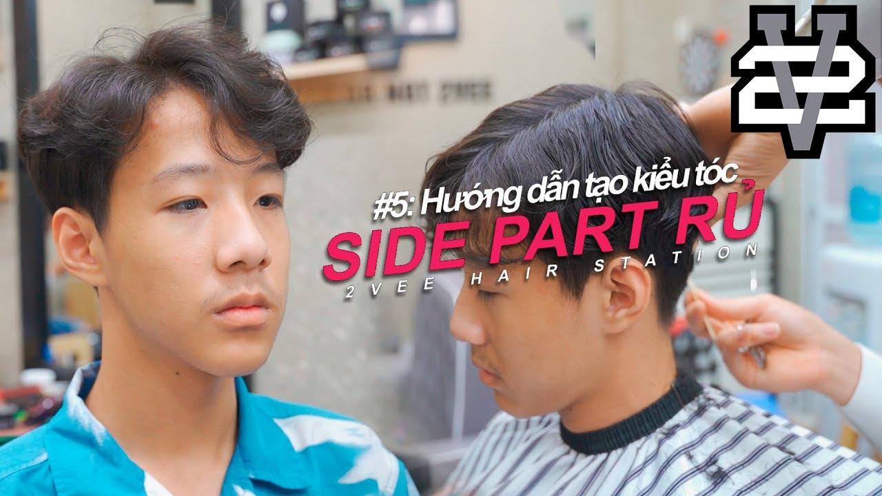 [TIPS/MẸO] Cách tạo kiểu tóc nam Hàn Quốc SIDE PART VUỐT RỦ – Tocnamdep.com