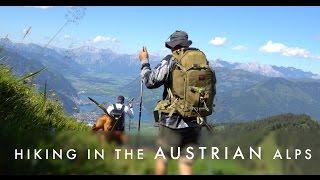 Hiking in the Austrian Alps - Imbachhorn 2470m / Zell am See - Kaprun