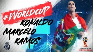 FIFA WORLD CUP GOALS | BEST OF RONALDO, MARCELO AND RAMOS