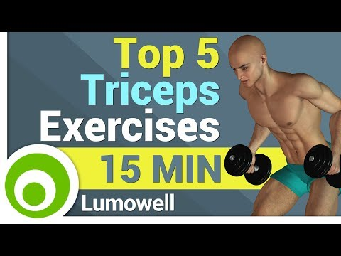 Top 5 Triceps Exercises at Home