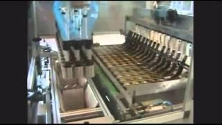 Вертикальная укладка банок в гофрокороб(ГК