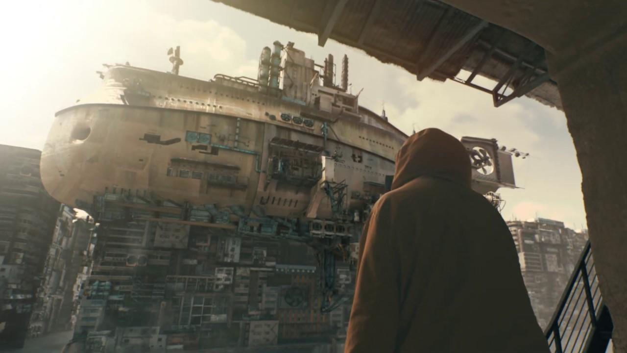 【VFX】飛行船