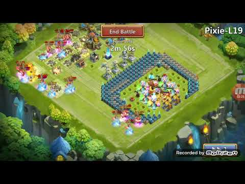 Heros Trial: Tricky L19 RUNS Castle Clash!!