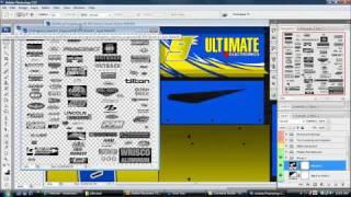 rFactor: Painting a car under 10 minutes: Boz Sprintcar Dalton Dietrich #9 Request