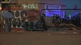 West Lake Street reopens after Tuesday night protests in Uptown Minneapolis
