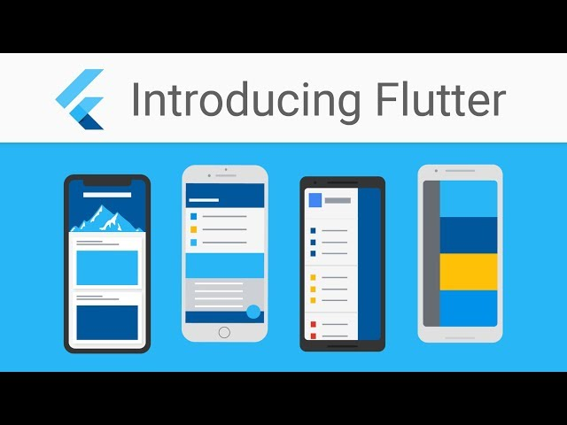 Flutter, Google's mobile app SDK for iOS and Android, is now in beta