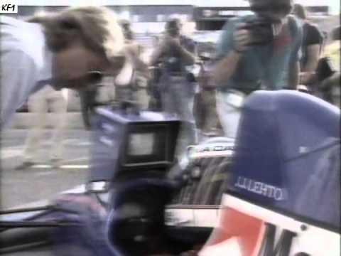 JJ Lehto ja Onyx-Ford 1989 Espanja (YLE uutiset)