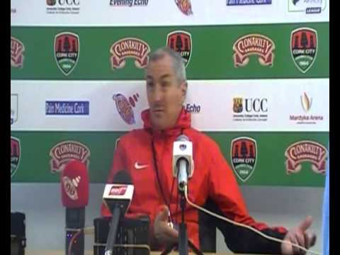 Press conference pre-Drogheda United 15/04/2015