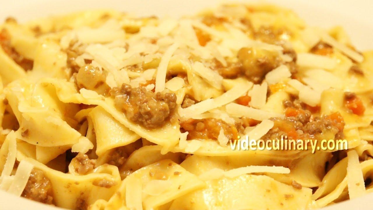 Fresh tagliatelle pasta recipes