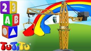 TuTiTu Preschool   Learning Colors For Babies And Toddlers   Crane