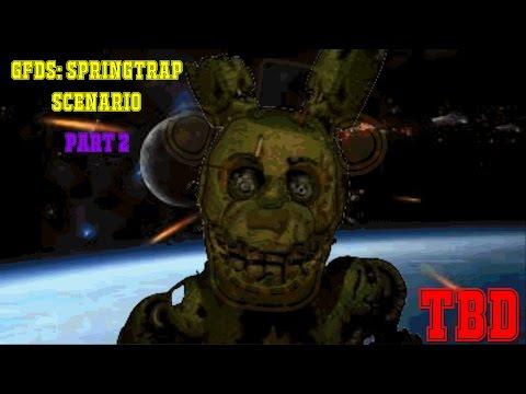 THE END [?]   Golden Freddy's Debauchery Simulator: Springtrap Scenario #2
