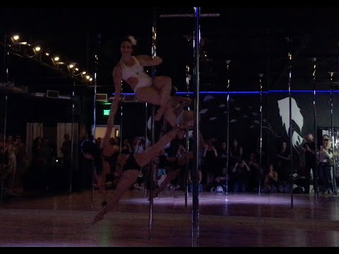 Pole Dance Duet - Allison & Lora