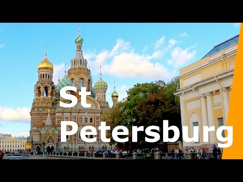 St Petersburg Russia Travel Vlog