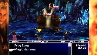 Final Fantasy Vii- New Threat Mod No Exp Challenge: Climbing The North Crater