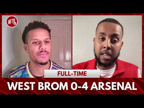 West Brom 0-4 Arsenal   The Youngsters Are Setting The Level! (Livz)