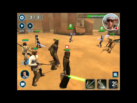 Playing Star Wars, Galaxy of Heroes