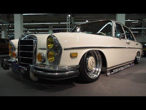 Mercedes Benz 280SE 1972 Tuning, 4.5 W108, S-Klasse, BBS Mahle R16