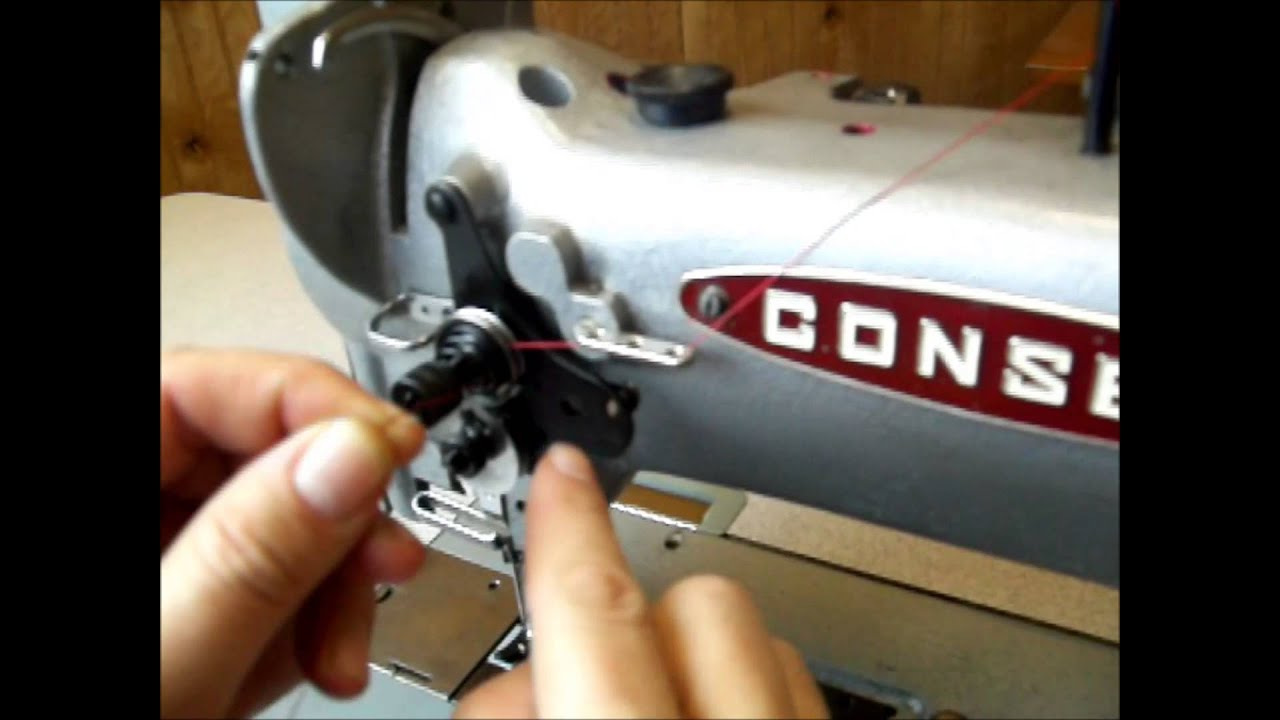 Threading Industrial Sewing Machine The Right Way Consew