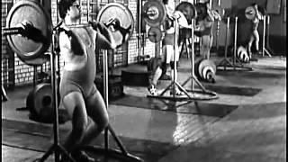 [Фильм 4] Тяжелая Атлетика, СССР фильм, обучение