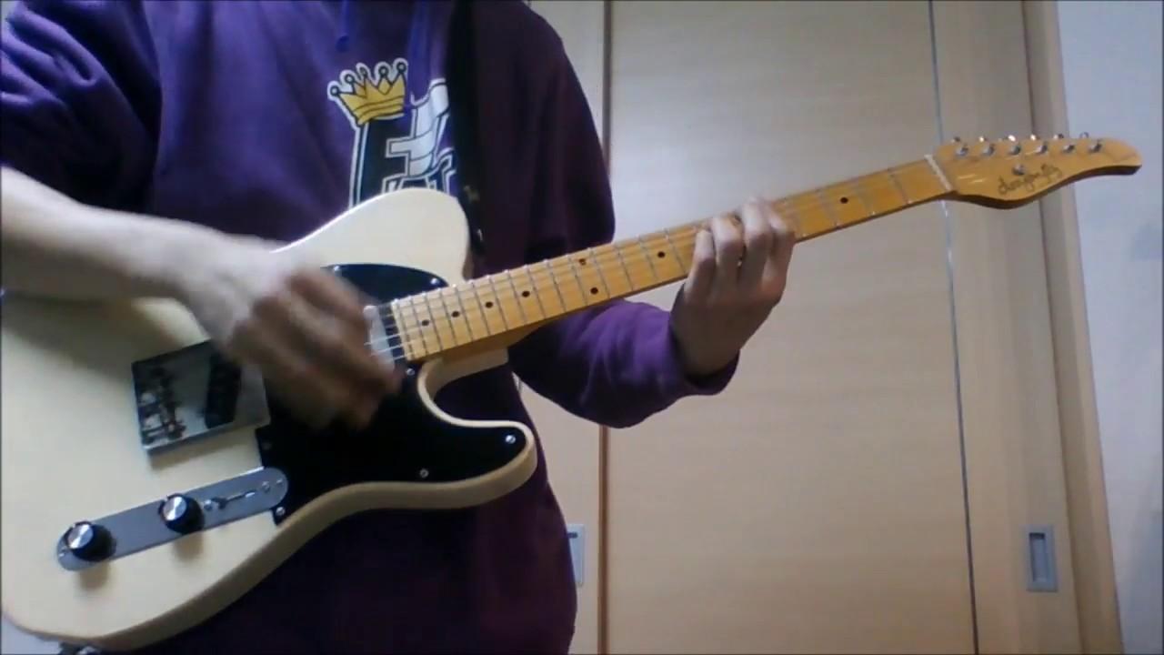 【ギター】BiSH / PAiNT it BLACK 【弾いてみた】 #1