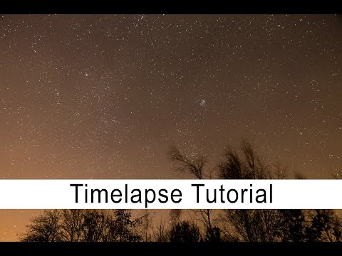 A Short and Sweet Video Tutorial on How to Capture a Night Sky Time-Lapse with Your DSLR