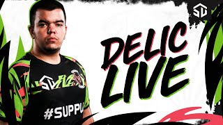 PRVI STREAM NA SUPPUP - DELIC JAKO DO MASTERA