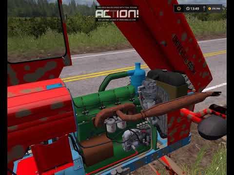 Farming Simulator 2017 pornire utb 650 si utb 651 motor saviem