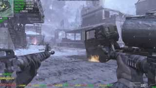 LP's with JustAlex in CoD MW3 №2 - Akimbo M16A4