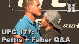 UFC 177 Fight Club Q&A: Anthony Pettis + Urijah Faber (HD / Complete + Unedited) Video