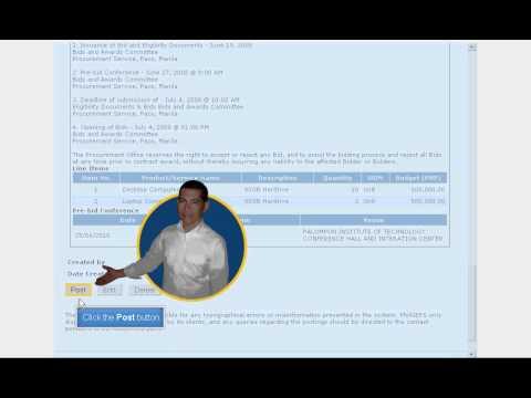 philgeps buyer - post bid notice.avi