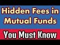 Fees Involved In Mutual Fund Investing | In Hindi Explained