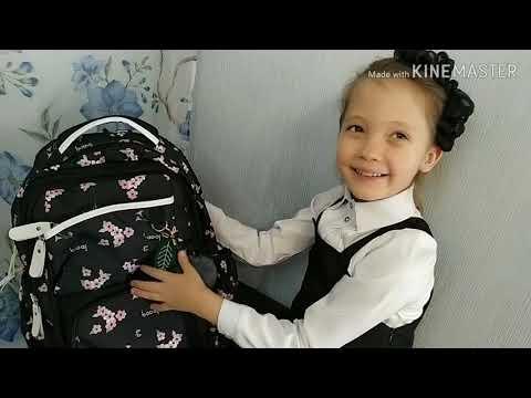 КИТАЙ! Качественный школьный рюкзак с пеналом и брелоком.