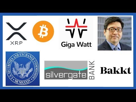 XRP To Pass Bitcoin For #1 Spot? Tom Lee XRP - Giga Watt Bankrupt - Crypto Bank Silvergate IPO