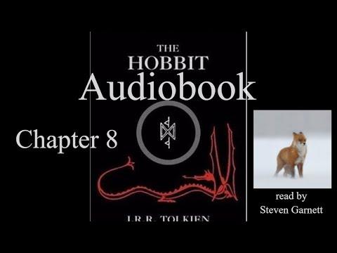 The Hobbit Chapter 8 [full audiobook] ASMR relax sleep *