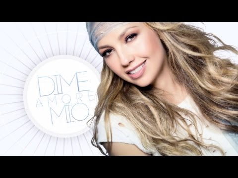 Thalia - Amore Mío (Letra / Lyric Video)