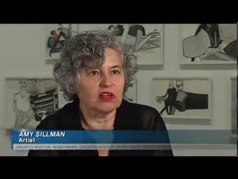 Art World Favorite Amy Sillman's First-Ever Retrospective At The ICA