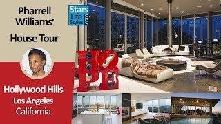Pharrell Williams' Hollywood Hills House Tour | Los Angeles, California | $8 Million